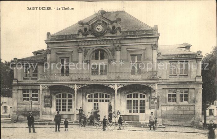 Saint Dizier Haute Marne Theater Kat. Saint Dizier