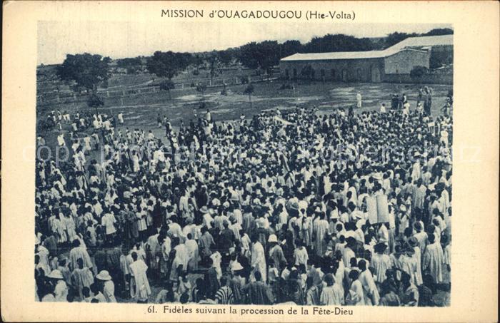 Ouagadougou Missionsversammlung Kat. Ouagadougou