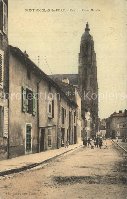 Saint Nicolas du Bosc Rue Vieux Marche Kat. Saint Nicolas du Bosc