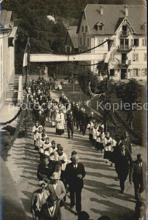 Mulhouse Muehlhausen Dornach Prozession  Kat. Mulhouse