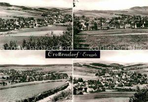 Crottendorf Erzgebirge Panorama Kat. Crottendorf Erzgebirge