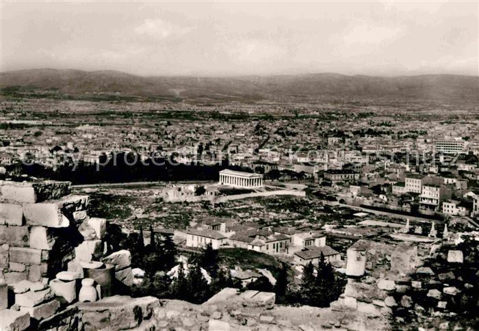 Athens Alabama The Agora of Athans with Theseion Kat. Athens