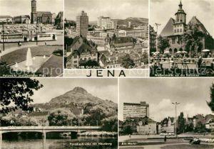 Jena Thueringen Wochenmarkt Ratszeise Zentraler Platz Paradiesbruecke
