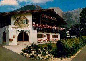 Schoenau Berchtesgaden Pension Haus Ederbrunn Kat. Berchtesgaden