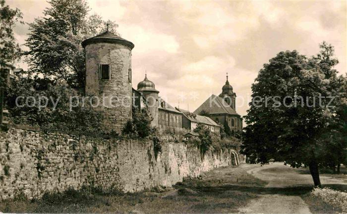 Hildburghausen Stadtmauer Kat. Hildburghausen