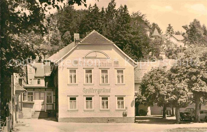 Tambach Dietharz Erholungsheim Spittergrund Kat. Tambach Dietharz