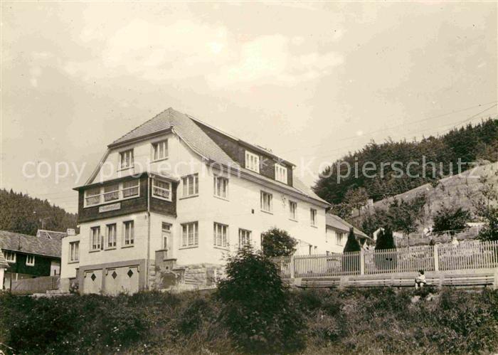 Schleusingerneundorf Haus Steinbergsblick Kat. Nahetal Waldau