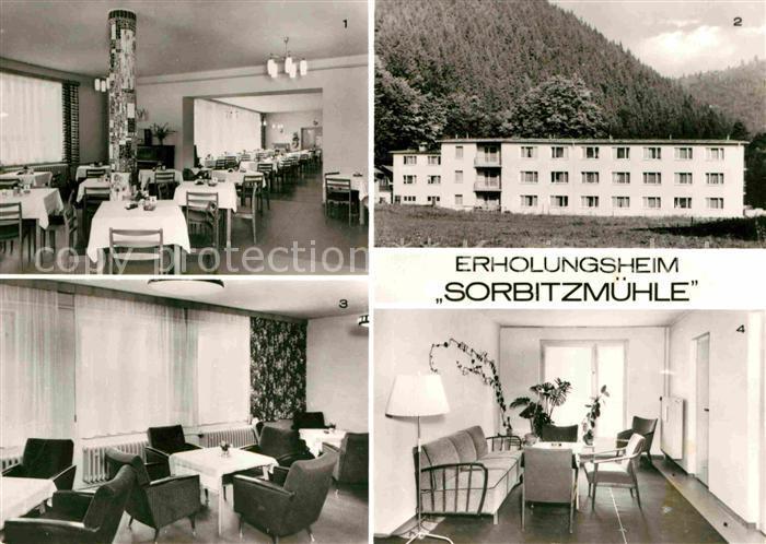 Doeschnitz Erholungsheim Sorbitzmuehle Kat. Doeschnitz