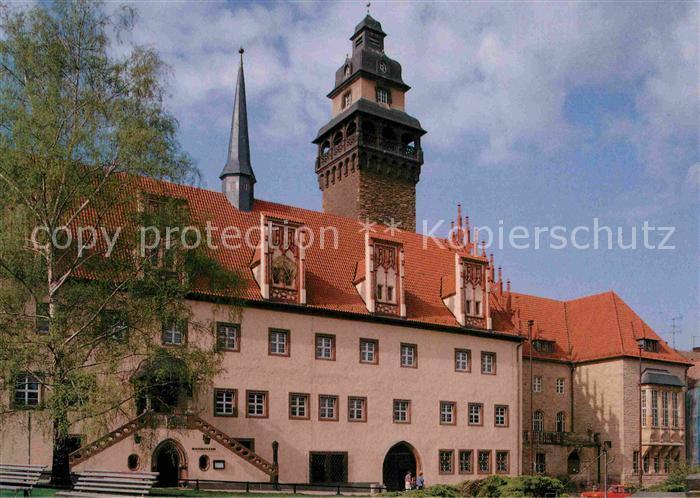 Zeitz Rathaus 1025 Jahre Zeitz Kat. Zeitz
