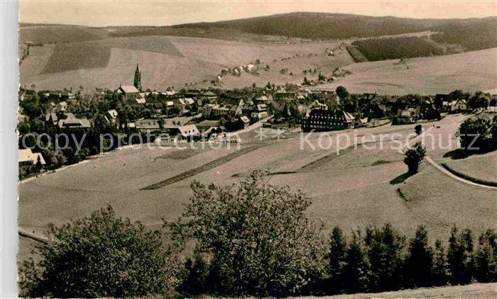Oberwiesenthal Erzgebirge Ortsansicht  Kat. Oberwiesenthal