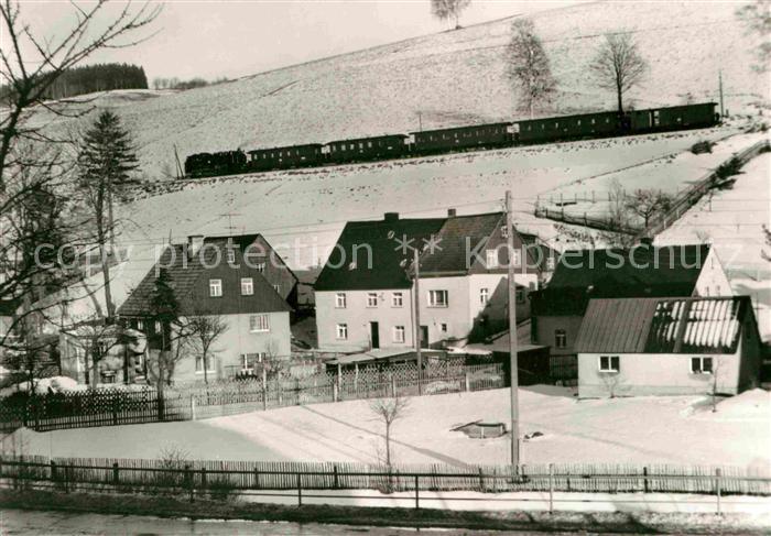 Cranzahl Schmalspurbahn Kat. Sehmatal