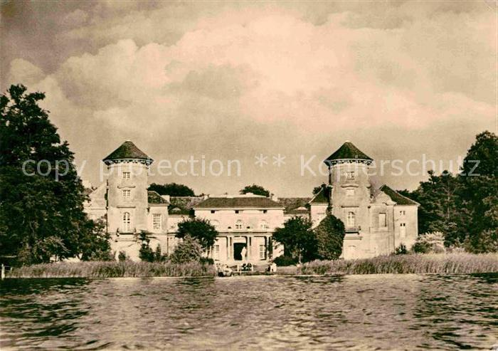 Rheinsberg Schloss jetzt Sanatorium Helmut Lehmann Kat. Rheinsberg