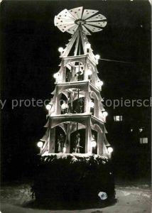 Gruenhain Erzgebirge Weihnachtspyramide