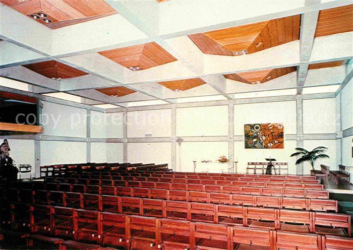 Bayreuth Katholische Pfarrkirche Heilig Geist Kath Gemeindezentrum Innenansicht Kat. Bayreuth