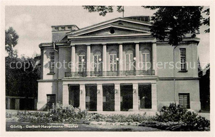 Goerlitz Sachsen Gerhart Hauptmann Theater Kat. Goerlitz