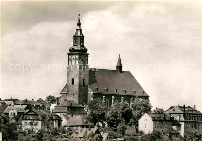 Schneeberg Erzgebirge Kirche Sankt Wolfgang Kat. Schneeberg