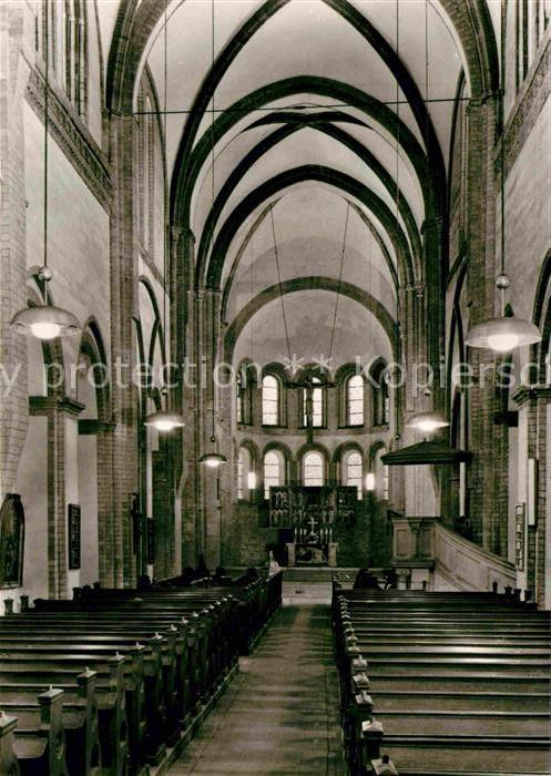 Lehnin St Marien Klosterkirche Mittelschiff Altar Kat. Kloster Lehnin