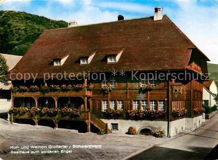 Glottertal Gasthaus zum goldenen Engel Kat. Glottertal Schwarzwald
