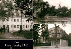 Niesky Genesungsheim  Kat. Niesky