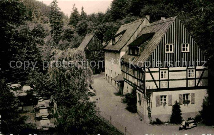 Kleinhennersdorf Liethenmuehle Kat. Gohrisch
