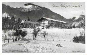 Brannenburg Posterholungsheim Brannenburg Kat. Brannenburg