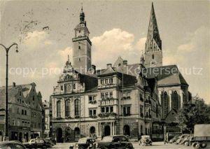 Ingolstadt Donau Rathaus Pfeifturm Sankt Moritzkirche Kat. Ingolstadt