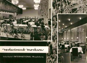 Magdeburg Interhotel International Restaurant Moskwa Kat. Magdeburg