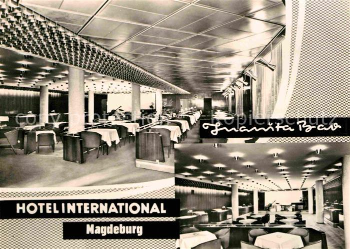 Magdeburg Hotel International Juanita Bar Kat. Magdeburg