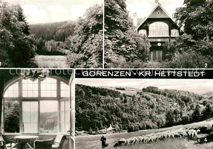 Gorenzen Hagen Jugendherberge Wolfgang Seiffert Lustberg Kat. Mansfeld Suedharz