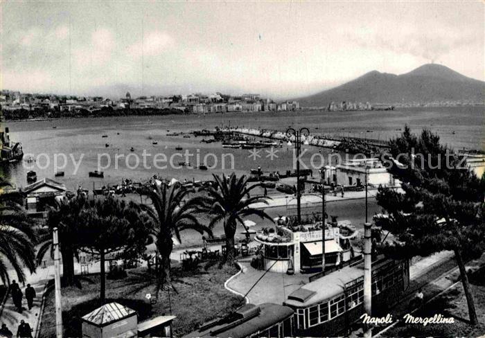 Napoli Neapel Mergellina Kat. Napoli