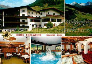 Nauders Tirol Hotel Edelweiss Kat. Nauders