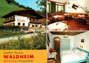 Zell See Gasthaus Pension Waldheim Kat. Zell am See