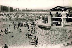 Gijon Playa de San Lorenzo Kat. Gijon