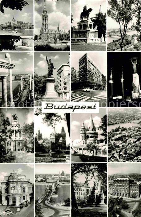 Budapest Kirche Denkmal Kat. Budapest