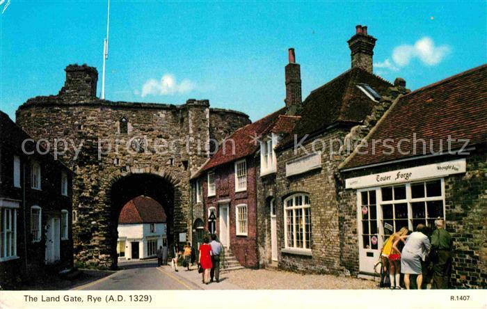 Rye East Sussex Land Gate Kat. East Sussex