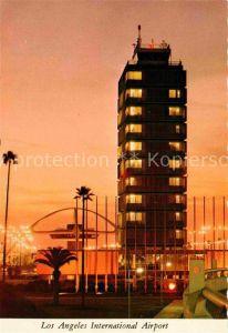 Los Angeles California International Airport at night Kat. Los Angeles