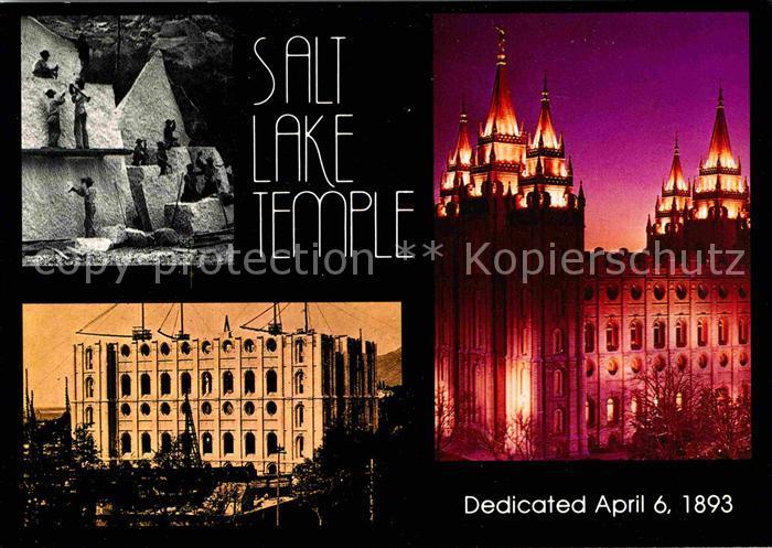Salt Lake City Temple square Church of Jesus Christ  Kat. Salt Lake City