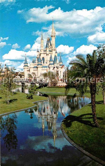 Walt Disney World Cinderella Castle Kat. Lake Buena Vista