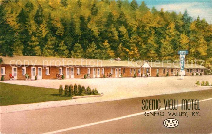 Renfro Valley Scenic View Motel Kat. Renfro Valley