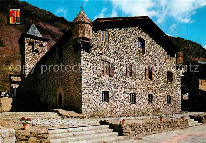 Andorra La Vella Casa de la Vall Kat. Andorra La Vella