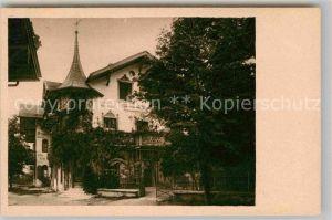 Oberammergau Villa Anton Lang Kat. Oberammergau