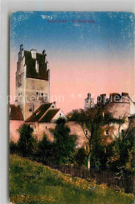 Ingolstadt Donau Taschenturm Kat. Ingolstadt