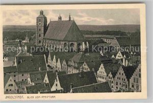 Ingolstadt Donau Blick vom Pfeifturm Kat. Ingolstadt