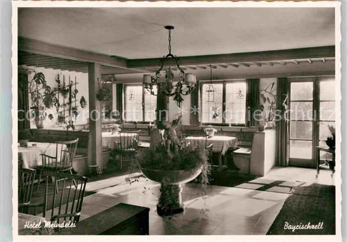 bayrischzell hotel meindelei kat bayrischzell nr de28142 oldthing ansichtskarten. Black Bedroom Furniture Sets. Home Design Ideas