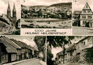 Heiligenstadt Eichsfeld Heilbad Stubenstrasse Heimenstrasse Scheuche Kat. Heiligenstadt