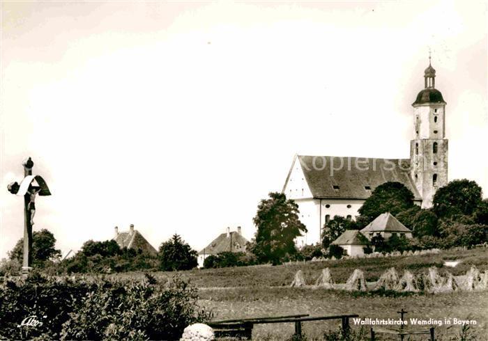 Wemding Wallfahrtskirche Kat. Wemding