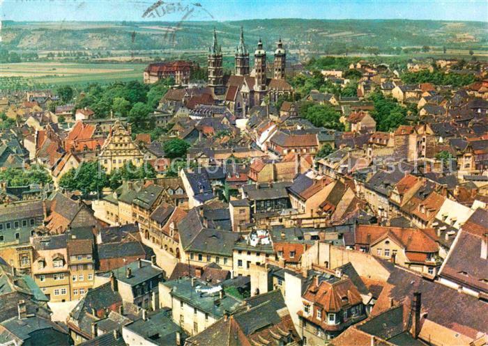 Naumburg Saale Altstadt mit Dom Kat. Naumburg
