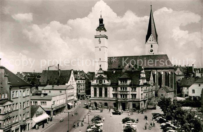 Ingolstadt Donau Rathaus Kat. Ingolstadt