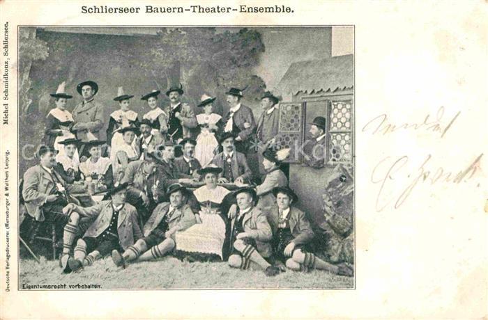 Schliersee Bauern Theater Ensemble Kat. Schliersee