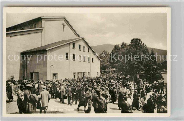 Oberammergau Passionsspielhaus  Kat. Oberammergau